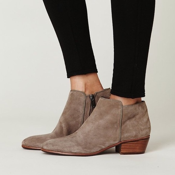 e0fff0b8e524 Sam Edelman Petty Chelsea Boot Gray Suede size 6.  M 56dcb52e7fab3a77bc000ca2. Other Shoes you may like. Sam Edelman Camel  Buckle Ankle Boots