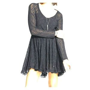 Free People witchy skater dress