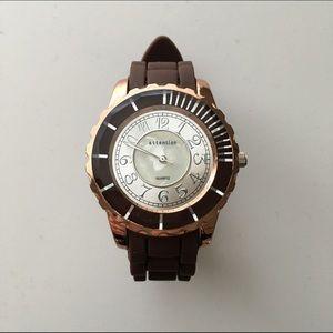 Accessories - Brown & Bronze Fashion Watch