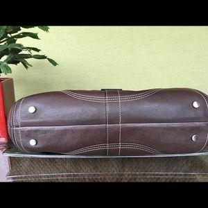 Coach Bags - Coach Brown Leather Satchel Handbag