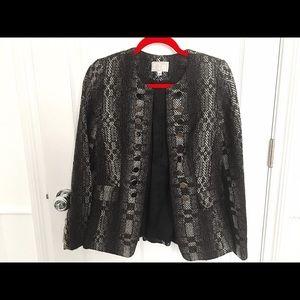 Alberto Makali Boucle Tweed Blazer SZ M