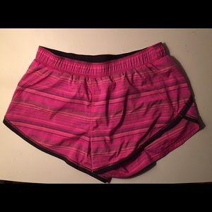 Pink & Black Lululemon Shorts