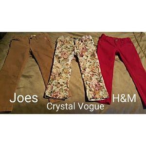 Joes, Crystal Vogue, H&M