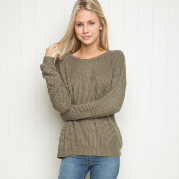 Brandy Melville Sweaters , Brandy Melville Olive sweater NEW