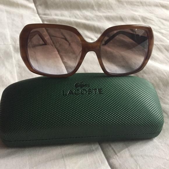 bf945b3cddd Lacoste Accessories - Lacoste Havana Sunglasses L629S style