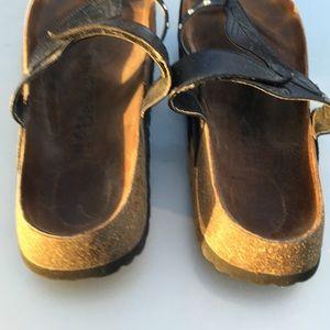 6b5f093096f Birkenstock Shoes - BIRKENSTOCK LEATHER THONG SANDAL 42 L 11