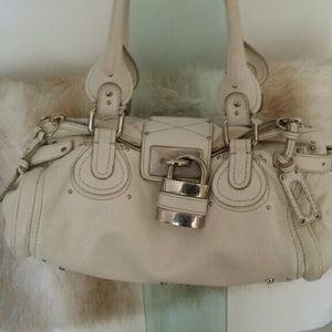 Chloe beige Paddington bag