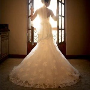 Dresses - Casablanca Wedding Gown Style 1995 Size 14