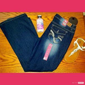 Sophia Hipster Flare Jeans