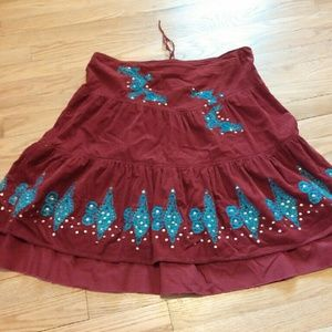 Dollhouse Dresses & Skirts - Dollhouse sequined boho skirt sz 11/12