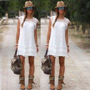 boho lace dress fully lined 009