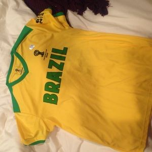 Tops - Brazil shirt