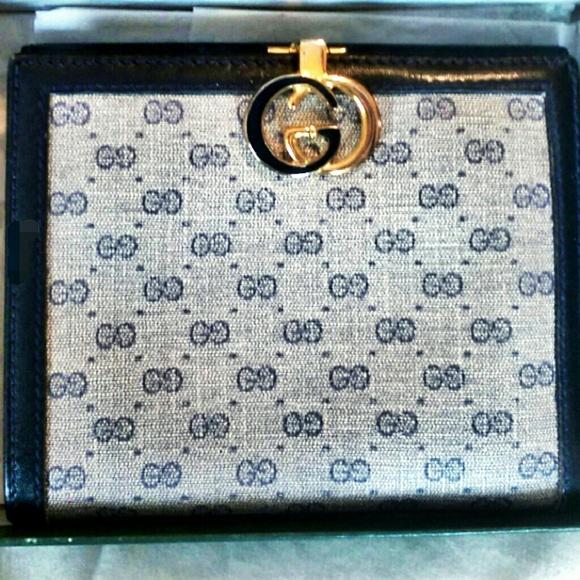 f5413e9086e9 Gucci Bags | Vintage Monogram Wallet New In Box | Poshmark