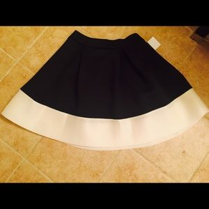 Final Price DropPleated Scuba Skater skirt NWT