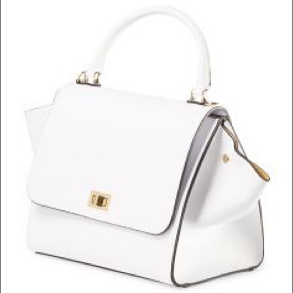 79% off Michaella Barri Handbags - White Satchel ONE Michaella ...