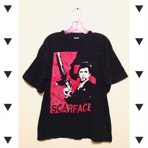 Vtg 90s Scarface tee   