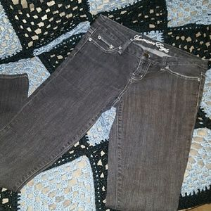 American Eagle Outfitters Denim - American Eagle 77 Straight  Sexy Black Jeans