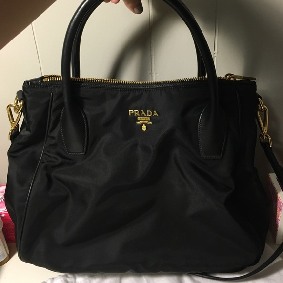 Relist  Authentic Prada Tessuto Hobo Bag. M 56dd0cd9729a66bfbb00d3ea 0629764305b6f