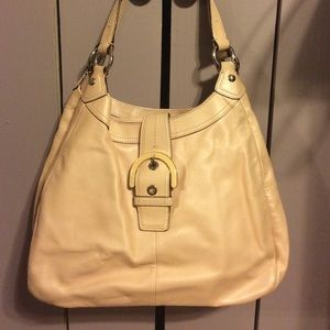Coach purse pink like new condition