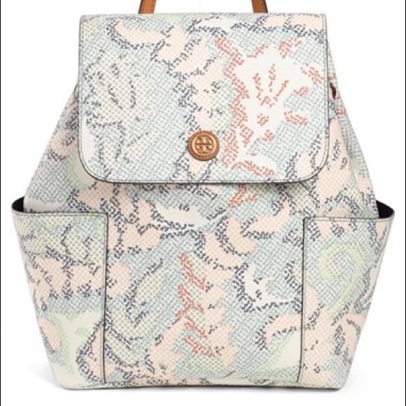 9175f7c7d00c NWT Tory Burch Kerrington backpack pastel