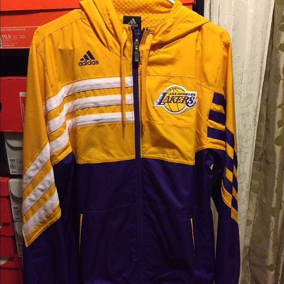 b98df0eda0c Adidas Jackets & Coats | Lakers Jacket | Poshmark
