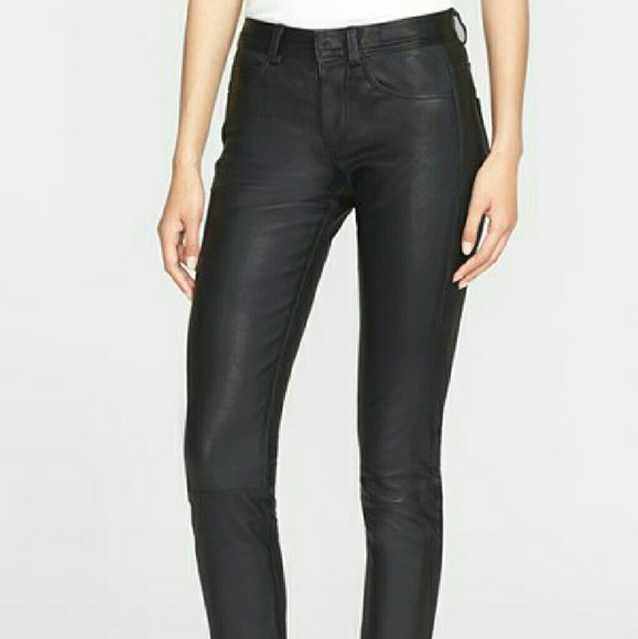 6df88d001c8099 Helmut Lang Pants | Sale Lamb Leather Womens Jeans | Poshmark