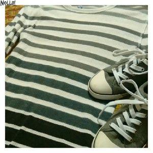 Nollie Tops - Nollie Striped Shirt...Size: Medium