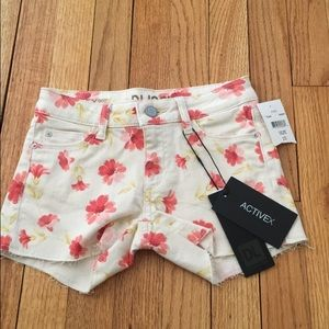 DL1961 Other - ⭐️KIDS⭐️ DL1961 floral shorts🌸