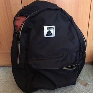 Poler Handbags - Poker Rambler Black Backpack