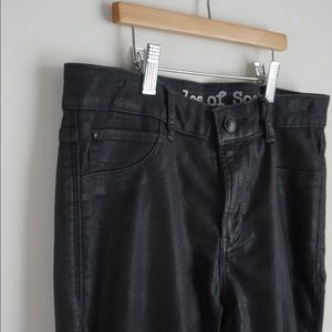 Articles of Society Waxy Black Denim