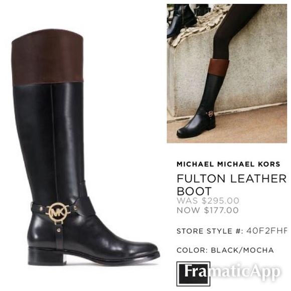Kors Fulton riding boots. M 57003bafb4188e4aff0a9947 0c2923c423d