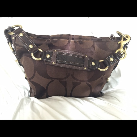 Coach Bags   Authentic Carly Signature Hobo Bag   Poshmark 80f911288c