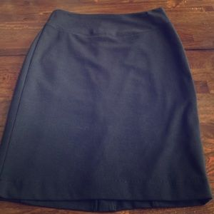 MICHAEL Michael Kors Black Pencil Skirt