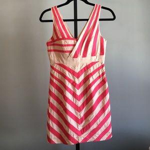 Lulu's Dress by Minuet Small Pink & Cream Striped