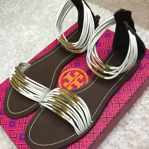 Tory Burch Mignon Rings Sandals Size 9