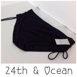 24th & Ocean Other - 24th & Ocean Black Bikini Bottoms - Size 22W