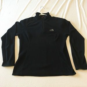 North Face Sweaters - North Face Pull Over Black