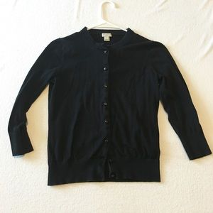 J. Crew Sweaters - Clare Cardigan by J.Crew Black