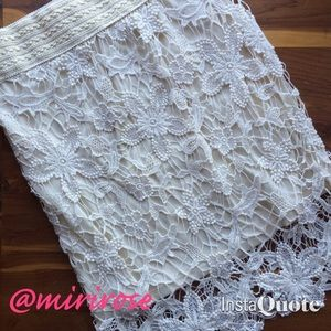 Crocheted Skirt by Kenar
