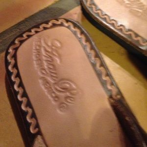 e0343a280a0c0 Anaype Shoes - Handmade leather butterfly sandals from Mexico