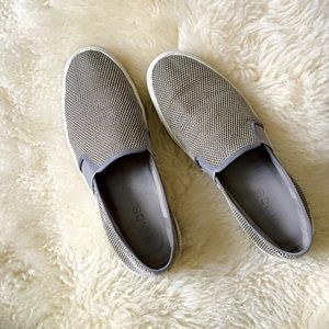 Vince slip on sneakers gray
