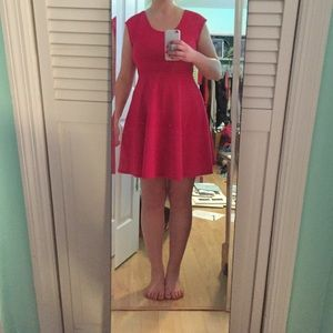 Precious pink bow dress - from Francesca's