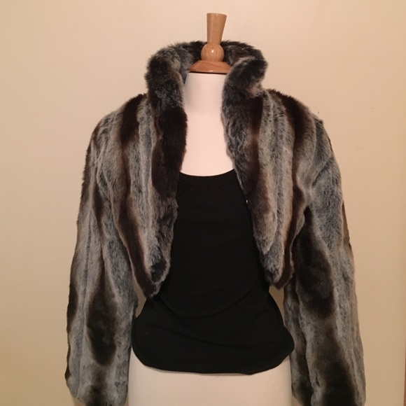 9024a3e3627d7 Baby Phat Jackets   Blazers - Baby Phat Faux Fur short coat