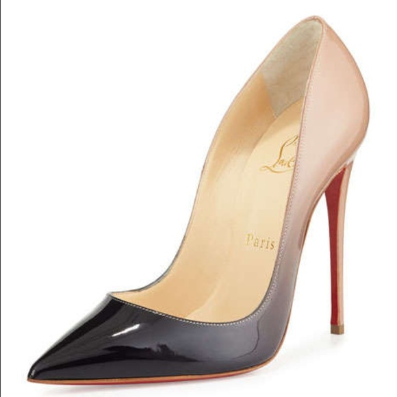 low priced 43fc2 3f02a Authentic Ombre So Kate 120mm Christian Louboutin NWT
