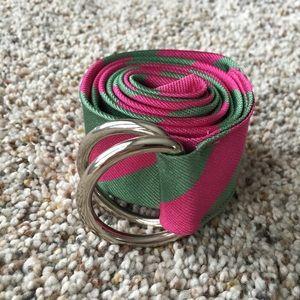 J. Crew Accessories - NWOT J.Crew silk belt