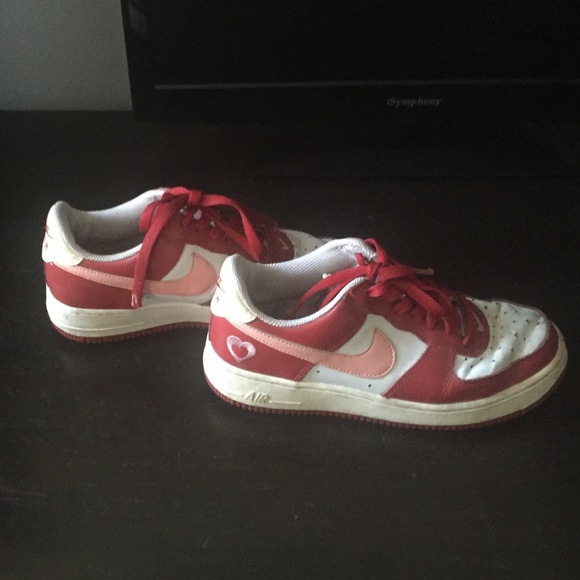 Nike Shoes Deadstock Valentines Day Air Force 12005 Sz 8 Poshmark