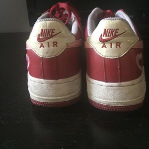 bff2161e10e9 Nike Shoes - Deadstock Valentines Day Air Force 1-2005. Sz 8