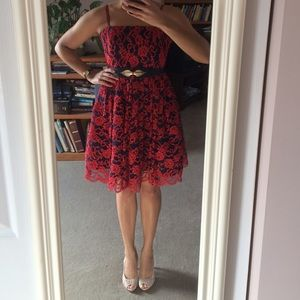 Alice + Olivia lace dress