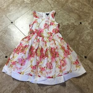 The limited floral dress