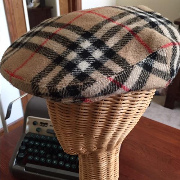 Burberry Newsboy cap Vintage🌸 df2d5c275ce6